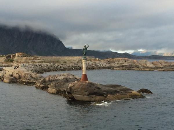 Approaching Svolvær